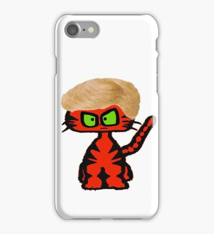 Cats Bad Hair Day iPhone Case/Skin