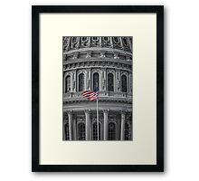 """I Pledge Allegiance..."" Framed Print"