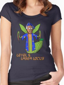 Level Five Laser Lotus Women's Fitted Scoop T-Shirt