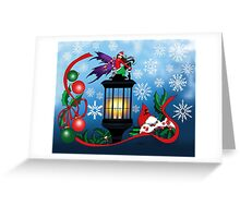 Snowflake Fairy Greeting Card