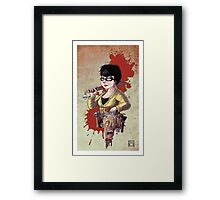 It's Beginning To Look A Lot Like Zombies Framed Print