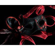 Masquerade Magic Photographic Print