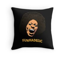 Funkadelic - Maggot Brain Throw Pillow