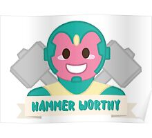 Hammer Worthy Poster