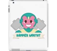 Hammer Worthy iPad Case/Skin