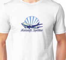Aircraft spotter blue Unisex T-Shirt