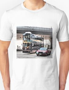 a streetcar named desire ...unique public transport in Hong Kong Unisex T-Shirt