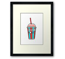Cold as F*** Framed Print