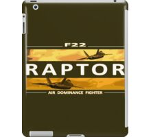 Air Dominance Fighter iPad Case/Skin