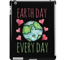 Earth Day Every Day iPad Case/Skin