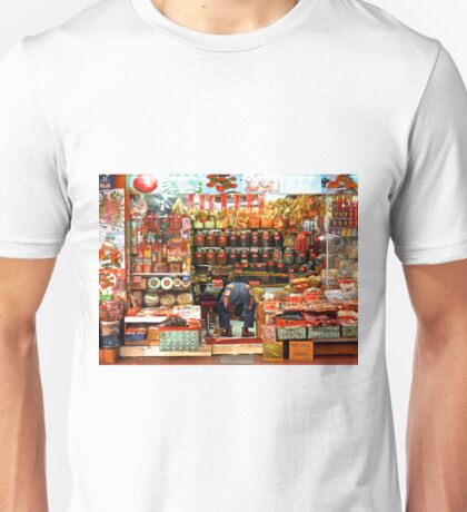 strike a pose and get that kitty...images from Hong Kong Unisex T-Shirt