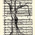 Handel Water Music Tree #4 by Rebecca Rees