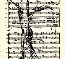 Handel Water Music Tree #4 by Rebecca Rees