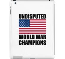 World War Champions iPad Case/Skin