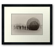 The New Habitat - no.1 Framed Print