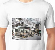 shop under construction in Hong Kong Unisex T-Shirt