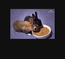 Rabbits Eating Spent Grains Unisex T-Shirt