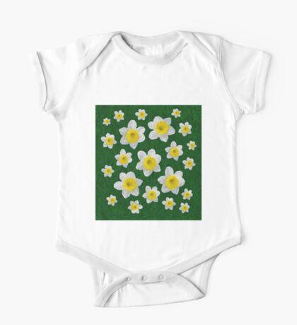 Spring Daffodils One Piece - Short Sleeve