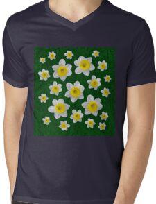 Spring Daffodils Mens V-Neck T-Shirt