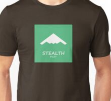 Stealth Pilot green Unisex T-Shirt