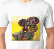 everybody is talking about...klompjes or Dutch super cool shoes Unisex T-Shirt