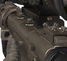 trickshot pistol Sticker