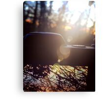 Nikon sunset Canvas Print