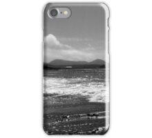 Irish Coast in Black and White iPhone Case/Skin