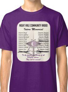 Night Vale Community Radio Intern Memorial Classic T-Shirt