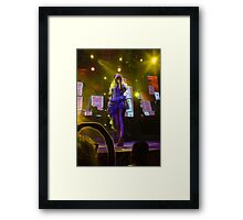 Mad T Party Alice Framed Print