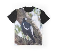 Australian Magpie Graphic T-Shirt