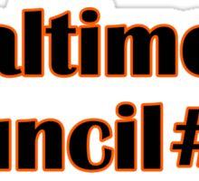 Baltimore Council #59 Sticker