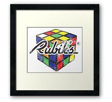 Rubik's Framed Print