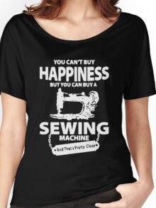 Sewing Happiness Women's Relaxed Fit T-Shirt