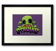Creepies - My Pet Cthulhu Framed Print