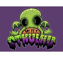 Creepies - My Pet Cthulhu Photographic Print