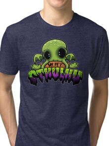 Creepies - My Pet Cthulhu Tri-blend T-Shirt