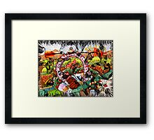 Landscapes of life are vast and free so you can choose what you want to see Framed Print