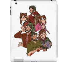 the last of us (clump) iPad Case/Skin