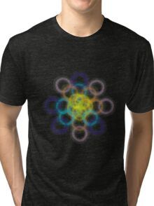 Psychedelic rings Tri-blend T-Shirt