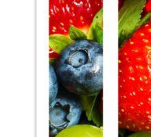 The Letter J - Fruit Sticker