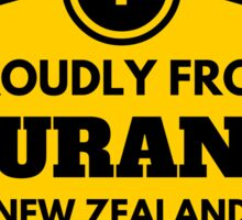 Proudly From Tauranga New Zealand Sticker