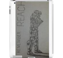 Remember Reach  iPad Case/Skin