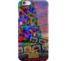 Hollywood Studios Christmas Tree iPhone Case/Skin