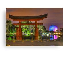 Japan Pavilion in EPCOT Canvas Print
