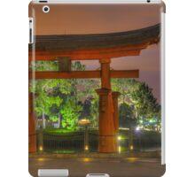 Japan Pavilion in EPCOT iPad Case/Skin