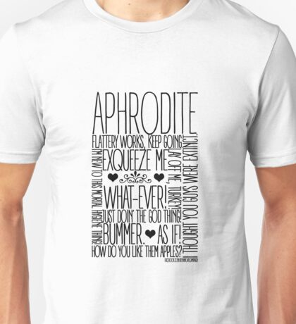 Aphrodite  Unisex T-Shirt