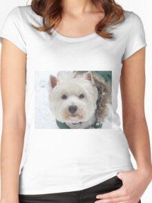 Wonderful Westies Women's Fitted Scoop T-Shirt