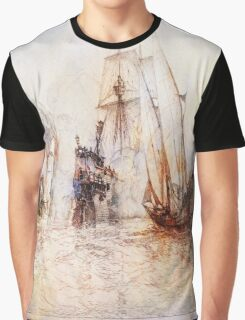 Ships In Battle Graphic T-Shirt