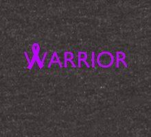 Warrior Ribbon - Purple Unisex T-Shirt